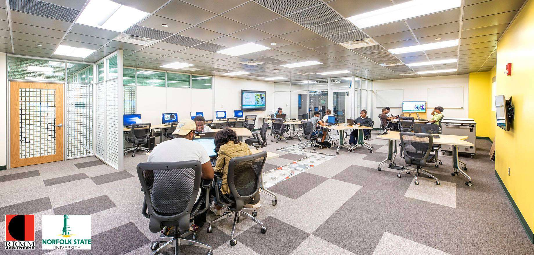 ESD Flooring For CyberSecurity Lab Design
