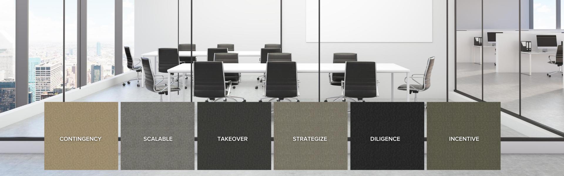 OfficeSmart® ESD Carpet Tile Boardroom