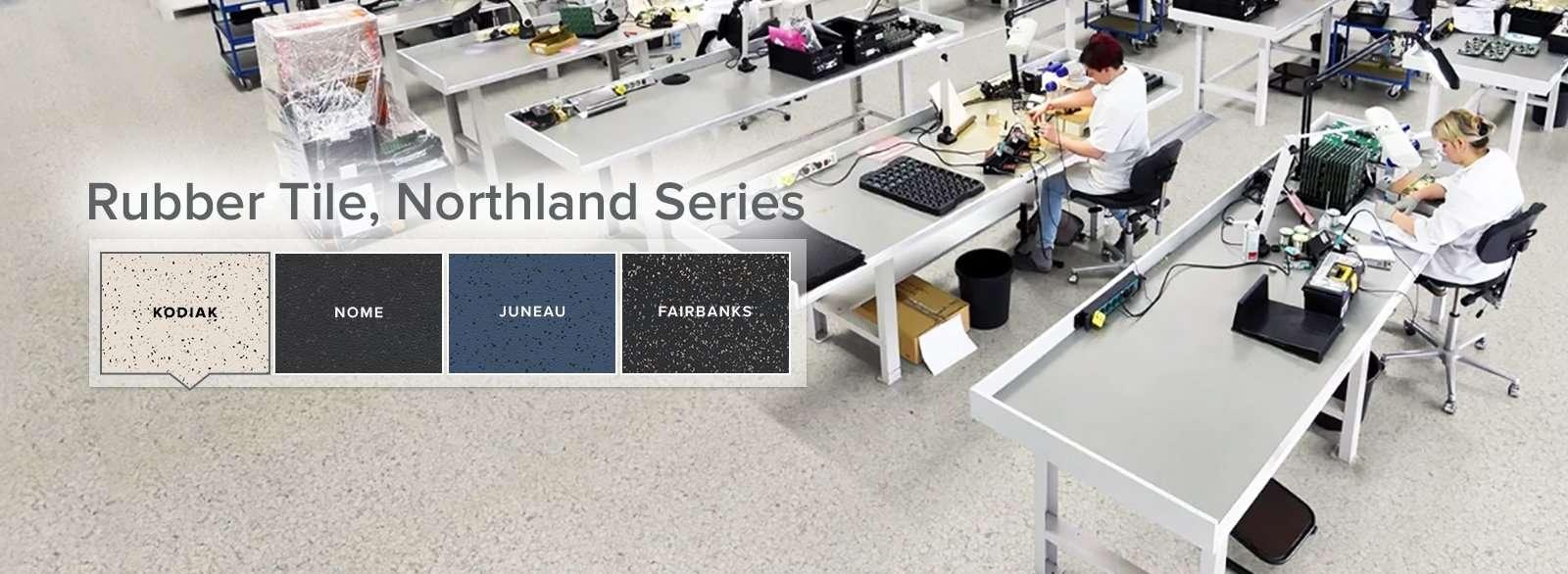 ESD Rubber Tile Flooring