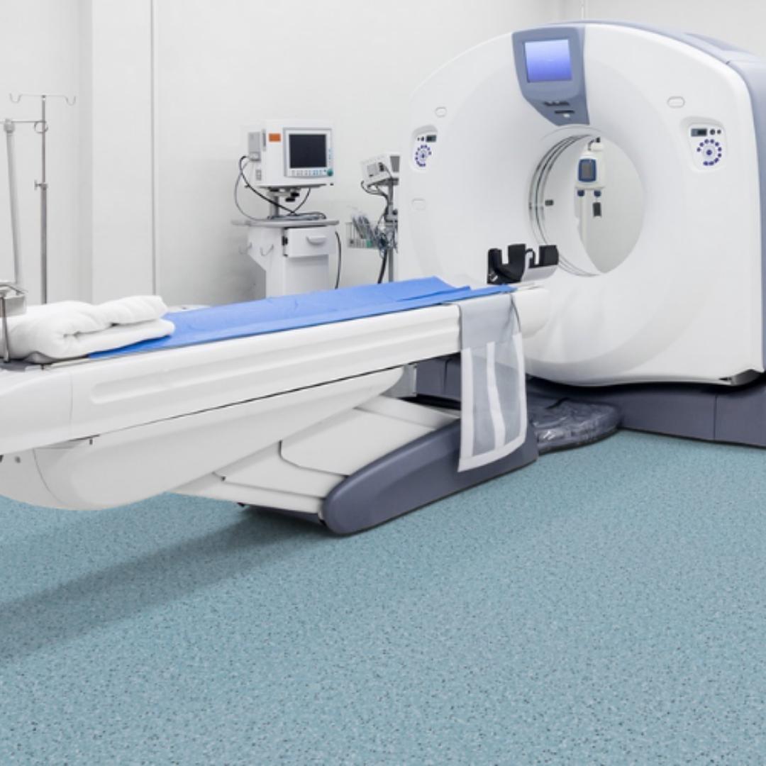 ESD Sheet Vinyl Flooring For MRI Room
