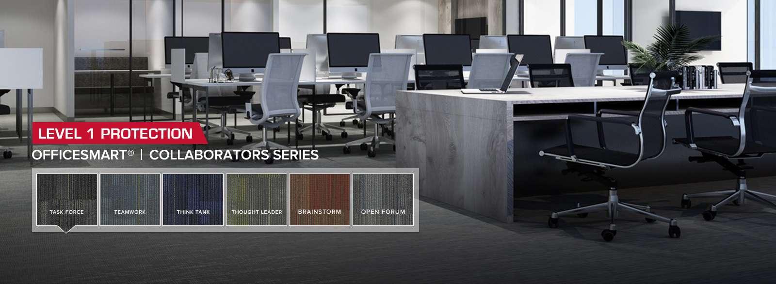 ESD Carpet Tile OfficeSmart Collaborators Series