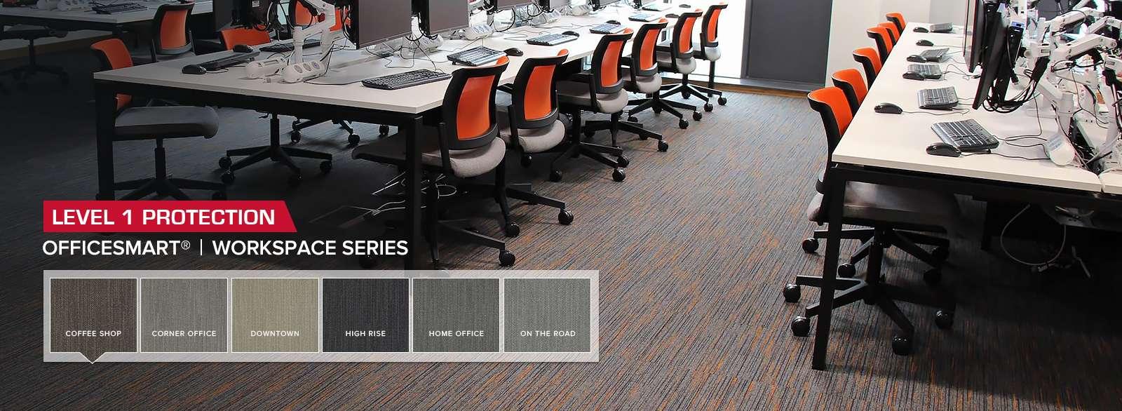 ESD Carpet Tile OfficeSmart Workspace Series