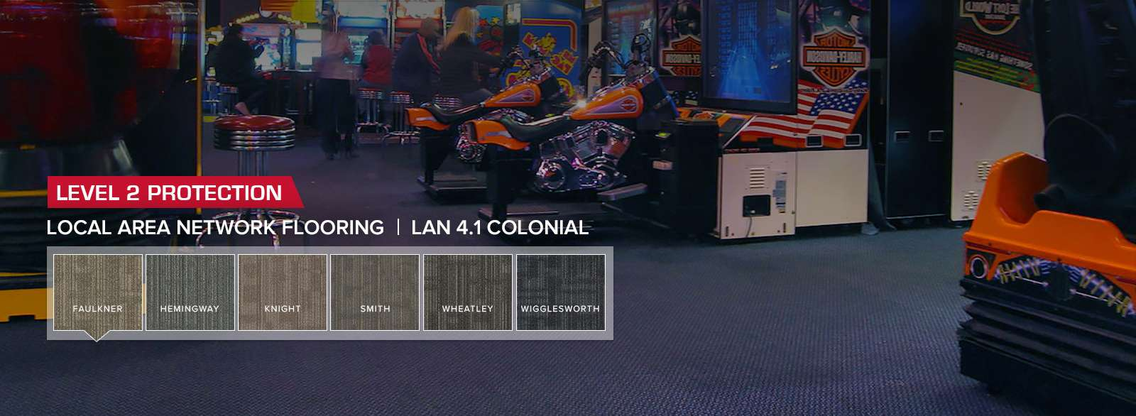 StaticSmart's LAN 4.1 Static Dissipative Flooring